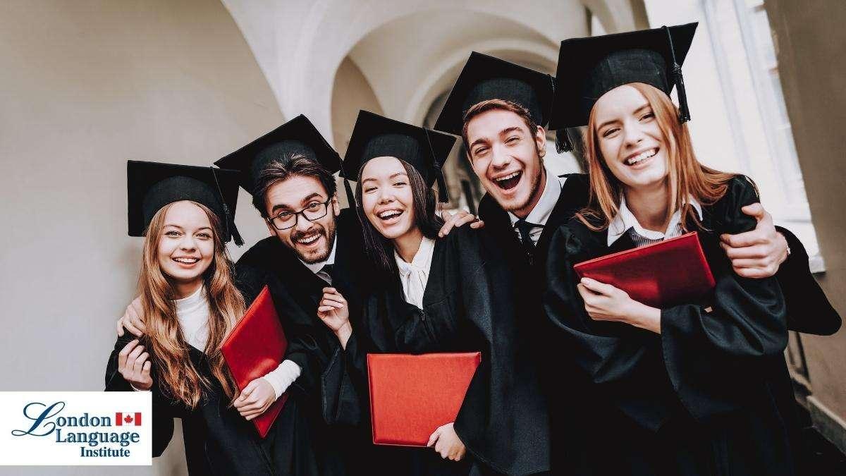 smiling graduates at university